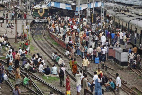 inde black out panne electricité chemin de fer REUTERS 930620
