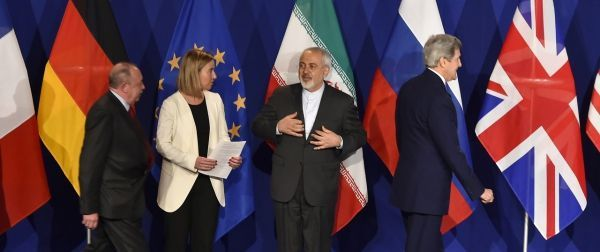 Iran Lausanne AFP