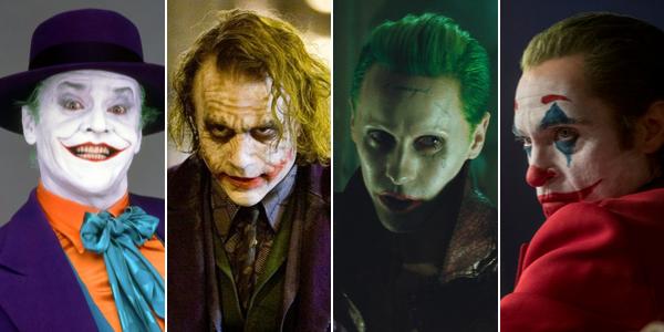 Jack Nicholson, Heath Ledger, Jared Leto et Joaquin Phoenix ont tour à tour incarné le Joker au cinéma.
