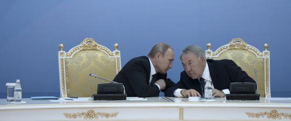 Kazakhstan Poutine Nazarbaiev bandeau