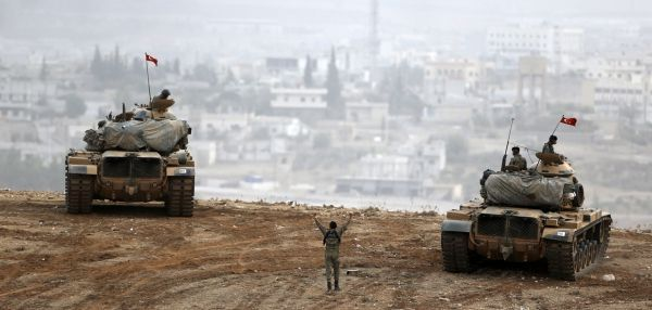 Kobané Turquie Syrie armée