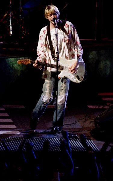 Kurt Cobain, en 1992