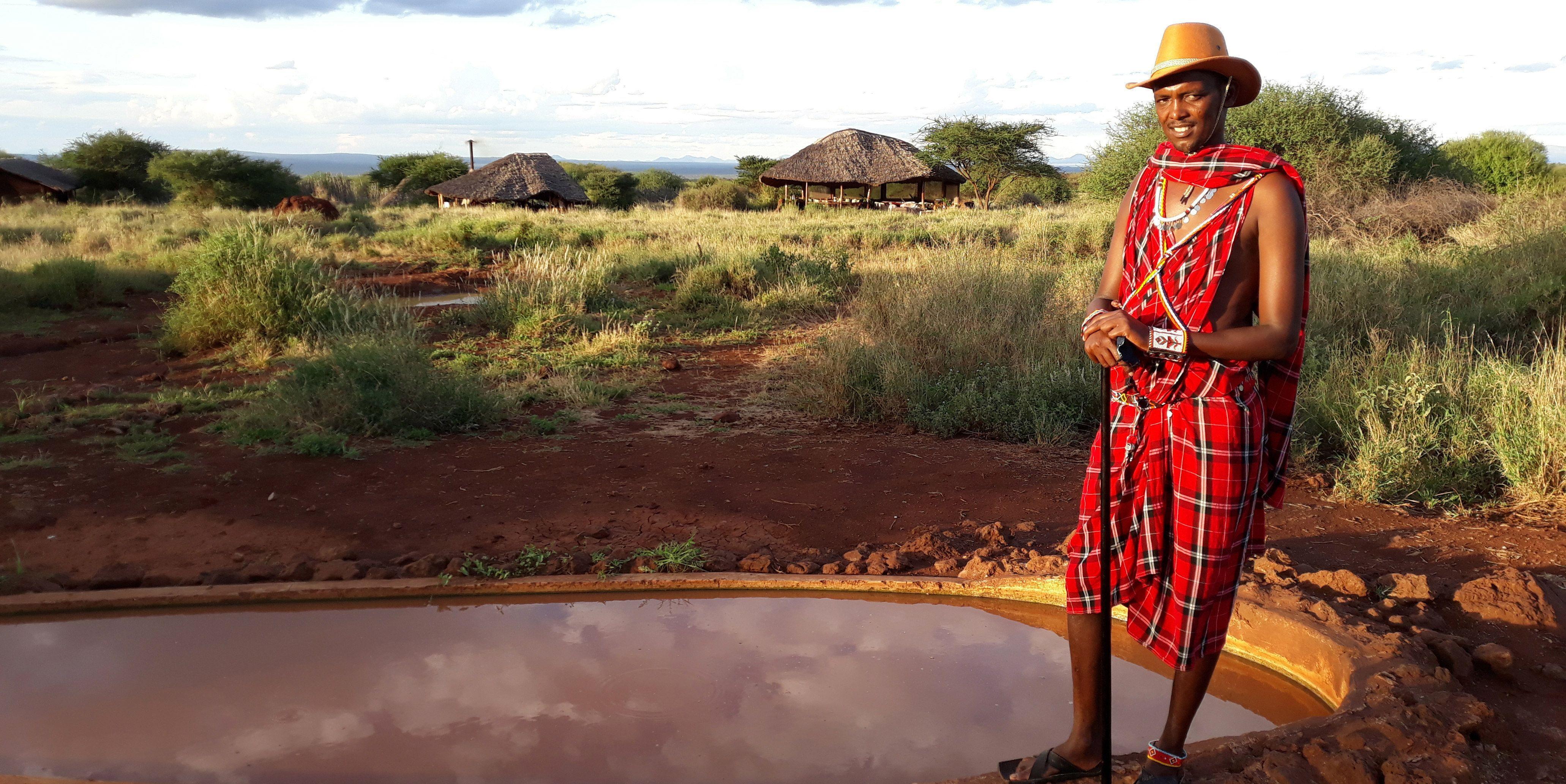 l'Amboseli Bush Camp acceuille les touristes du monde entier pour vivre la vie de brousse et admirer les animaux sauvages (1)