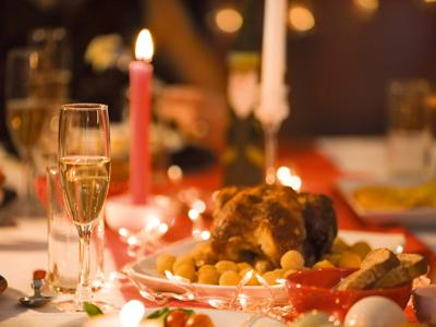 L'impact environnemental du repas de Noël
