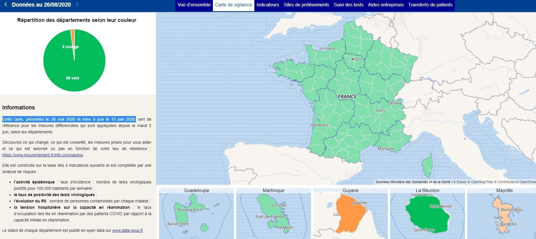 Covid 19 On Vous Explique La Nouvelle Carte Des Departements Classes Rouge