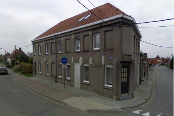 La maison de Depardieu à Néchin, vue sur Google Street View, 930*620