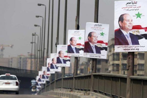 La Sissi-mania en Egypte