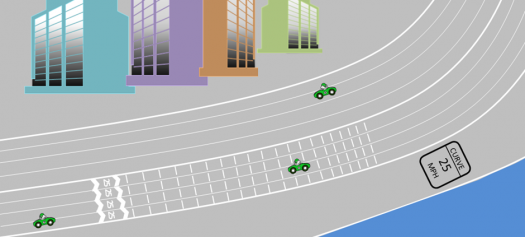 Lake Shore Drive Nudge for speed reduction, Thaler and Sunstein, 2008