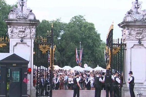 Le palais de Buckingam, Londres, Royal Baby