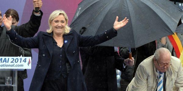 Le Pen défilé 1er mai 2014 AFP 1280