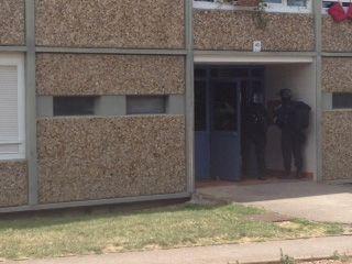 Le Raid est intervenu au domicile du suspect.
