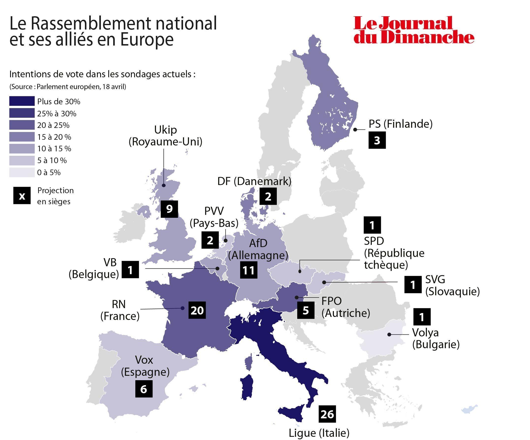 """La Dinde """" est plus lourde que Loiseau....... Le-RN-et-ses-allies-a-l-approche-des-elections-europeennes-de-mai-2019"""