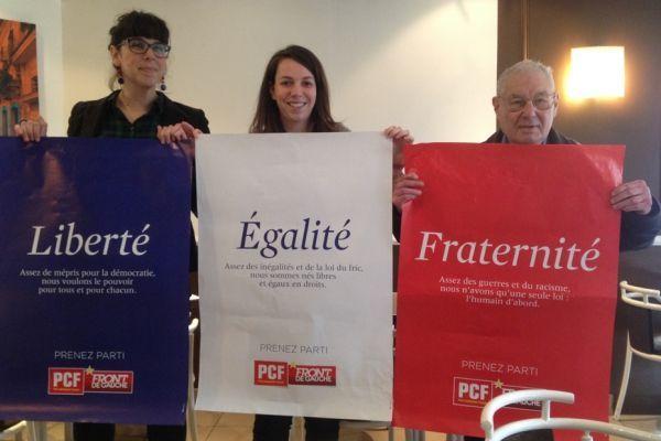 Les nouvelles affiches du PCF