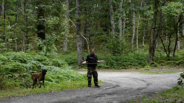 Les recherches une cinquantaine de gendarmes à à Lavaveix-les-Mines et Chénérailles, dans la Creuse