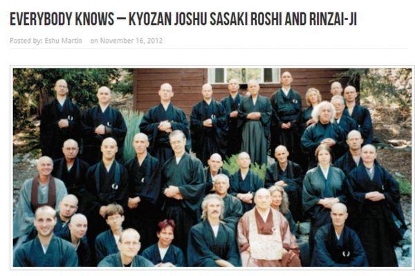 lettre dénonçant un maître zen