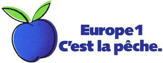 Logo Europe 1 c'est la pêche - 1990-2001