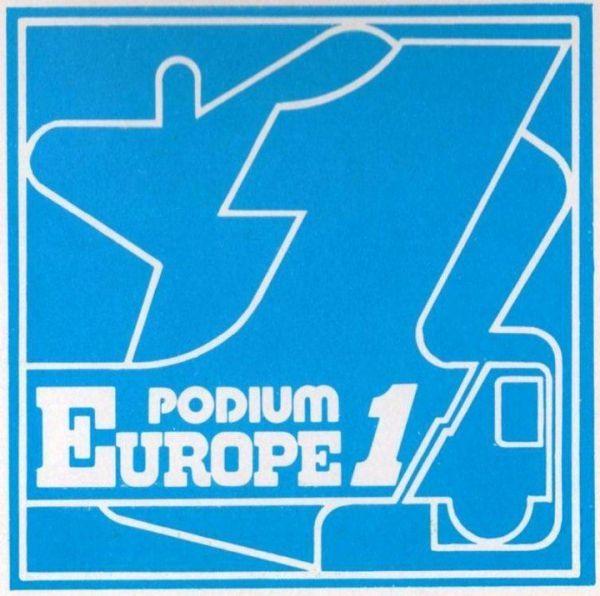 Logo Podium Europe 1 - 1979