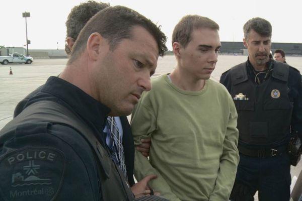 luka rocco magnotta arrivée à montreal police extradition REUTERS 930620