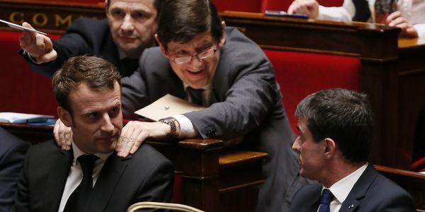Macron Valls Kanner AN AFP 1280
