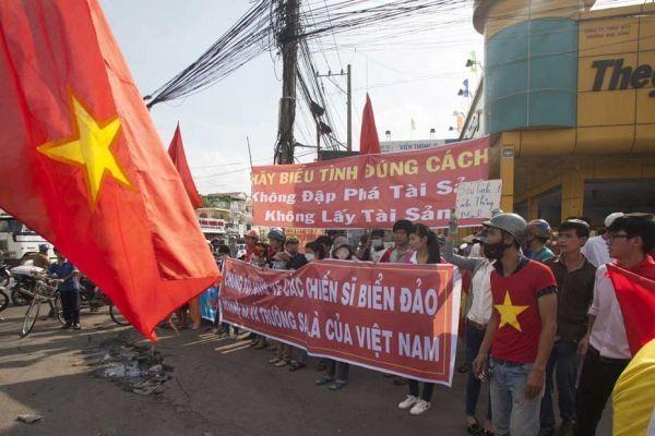 Manifestations anti-chinoises au Vietnam