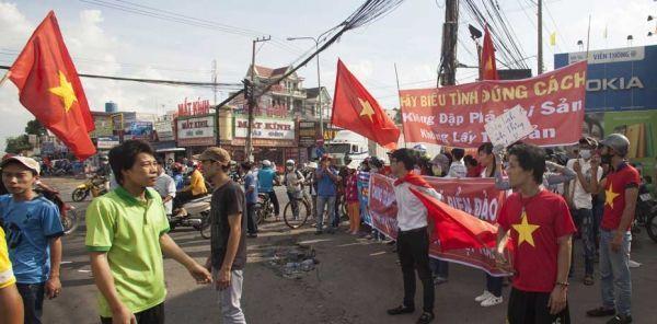 Manifestations au Vietnam