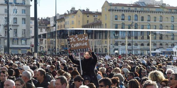 marche républicaine Marseille
