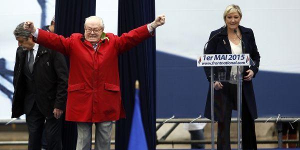 Marine Jean-Marie Le Pen FN 1er mai