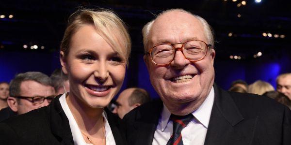 Marion Maréchal Jean Marie Le Pen AFP