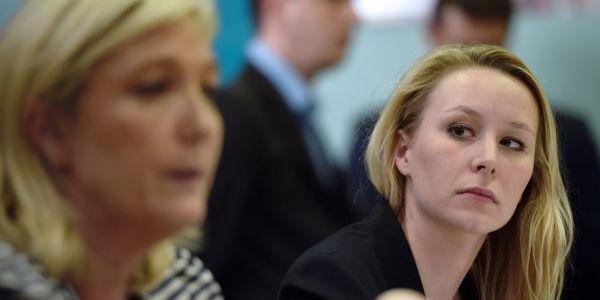 Marion Maréchal Marine Le Pen AFP 1280