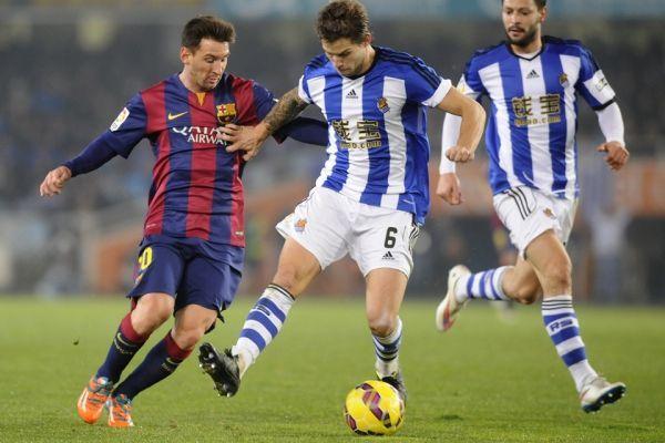 Messi face à la Real Sociedad (960x640)