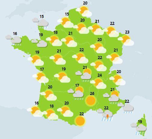 météo du 26 mai crédit : Météo France