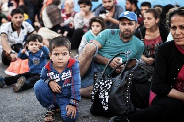 Migrants LOUISA GOULIAMAKI / AFP 714
