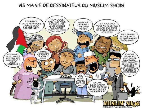 Muslim Show, dessin des lecteurs