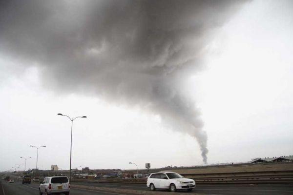 nairobi incendie REUTERS