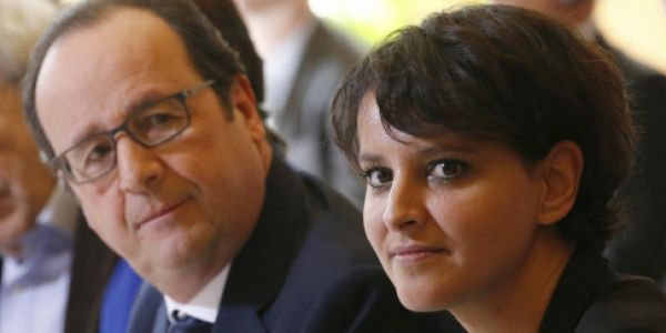 Najat Vallaud Belkacem Hollande AFP 1280