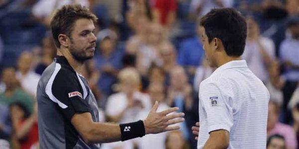Nishikori a écarté Wawrinka en quart de finale.