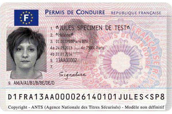 nouveau permis de conduire carte 930620