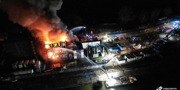 L'incendie s'est déclenché dans la nuit du mardi au mercredi 10 mars sur le site d'OVH à Strasbourg.