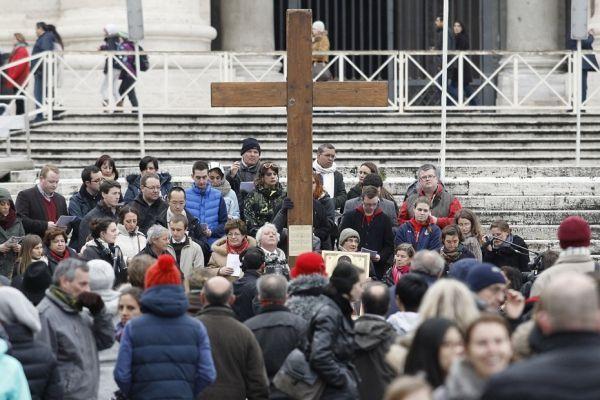 pèlerins vatican pape
