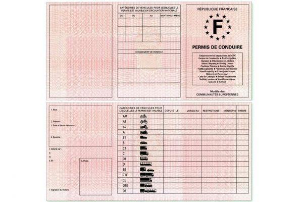 permis de conduire transitoire 930620