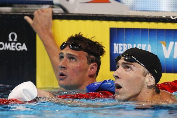 Phelps, Lochte