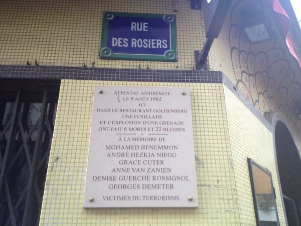 plaque rosiers