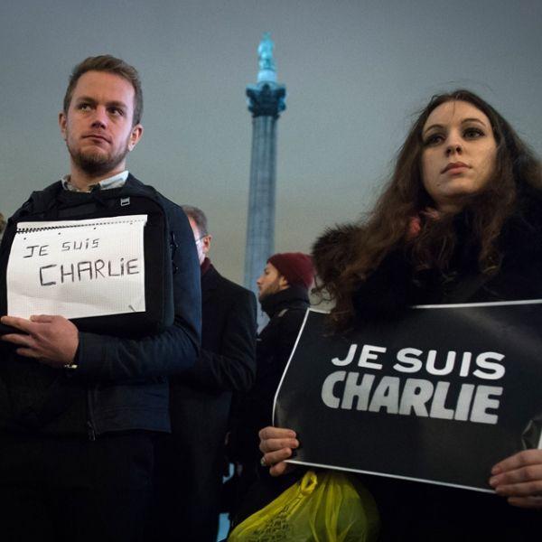 Rassemblement de soutien à Charlie Hebdo à Londres - 1280-640