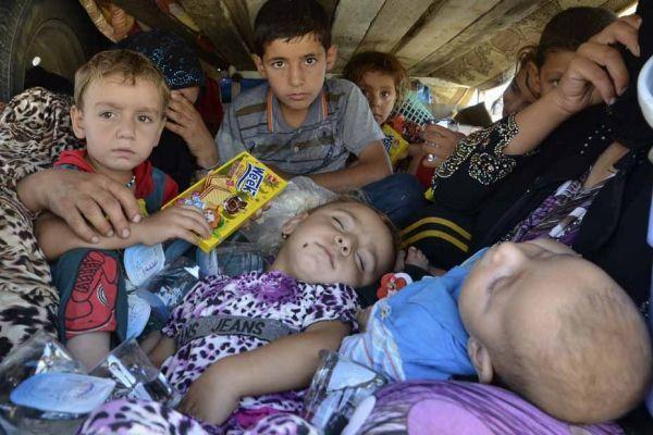 Réfugiés Yazidis