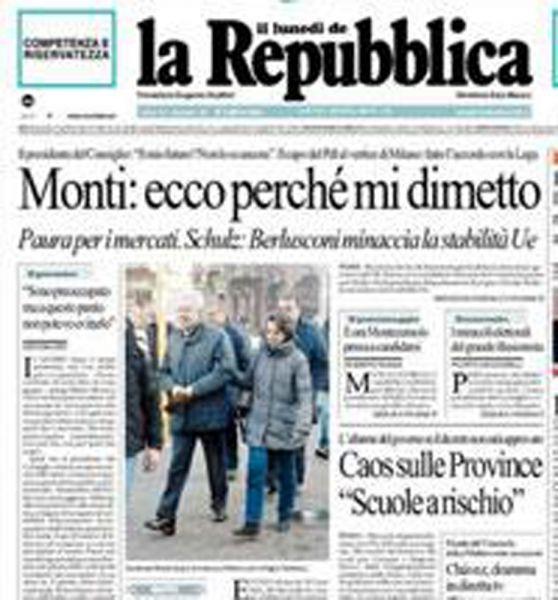 reppublica monti italie
