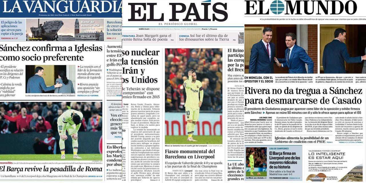 Liverpool overthrows Barça: Spanish press dismayed by