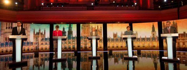 Royaume Uni débat élections 2015 AFP bandeau