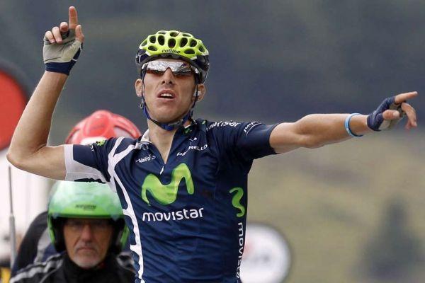 Rui Costa remporte la 8e étape, 930