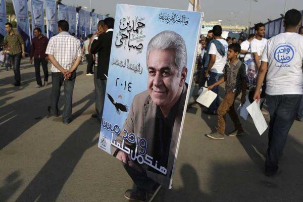 Sabahi, seul rival de Sissi en Egypte