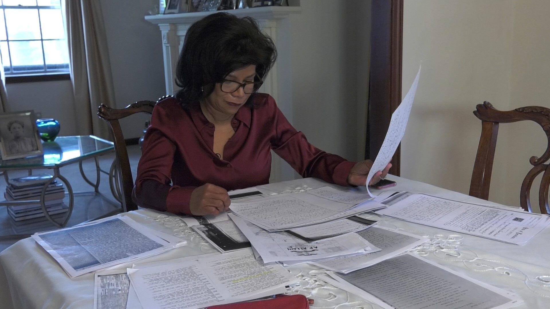 Sandra Thomas veut obtenir des réparations pour l'asservissement de ses ancêtres
